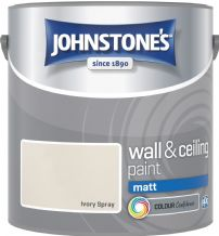 Johnstones Ivory Spray Coloured Emulsion